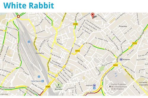 sucremax LApp Gratuite du Jour : White Rabbit