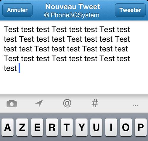 tweetamplius cydia Cydia : TweetAmplius, écrivez plus de 140 caractères dans vos tweets