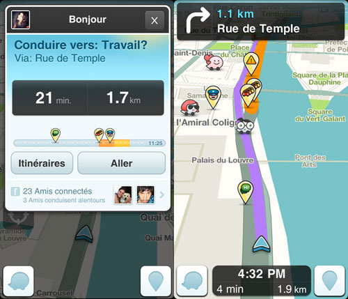 l 39 app gratuite du jour waze gps appsystem. Black Bedroom Furniture Sets. Home Design Ideas