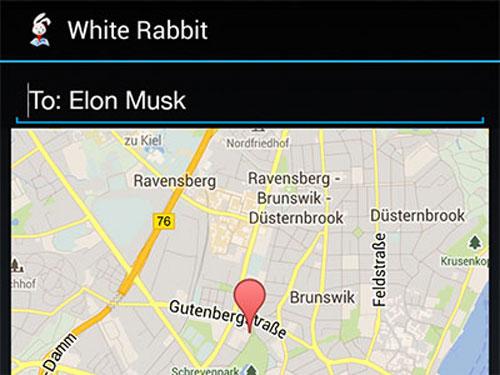 white LApp Gratuite du Jour : White Rabbit