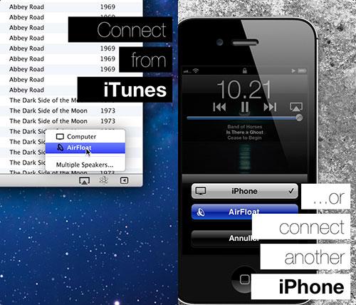 airfloat Cydia : AirFloat transforme votre appareil iOS en récepteur AirPlay