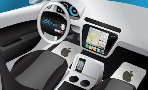 icar1 Ferrari travaille avec Apple sur un véhicule connecté