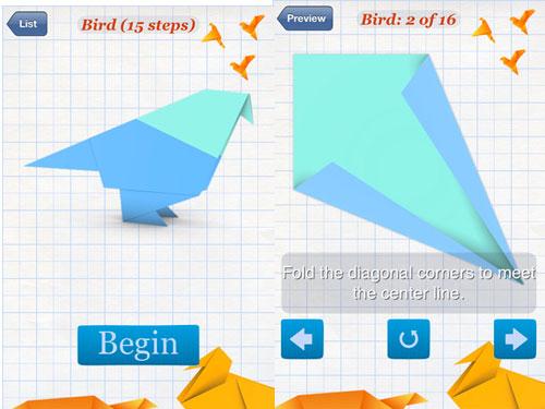origami2 LApp Gratuite du jour : Origami