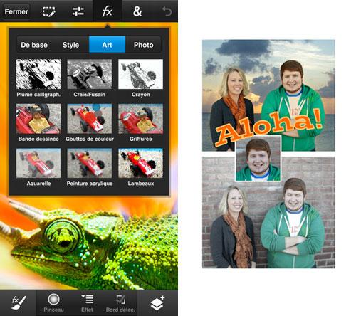 photoshop Photoshop Touch est disponible sur iOS