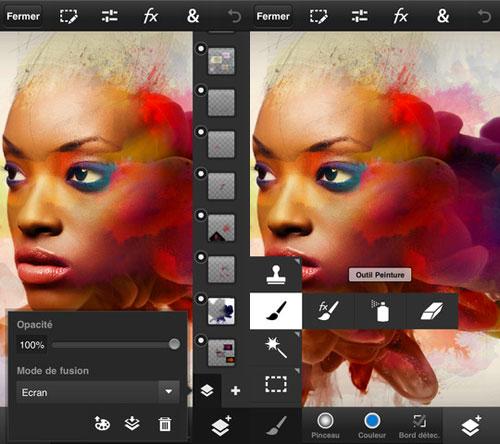 photoshoptouch Photoshop Touch est disponible sur iOS