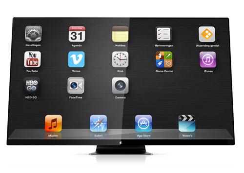 1appletelevisie itv Apple travaillerait sur un téléviseur Ultra HD