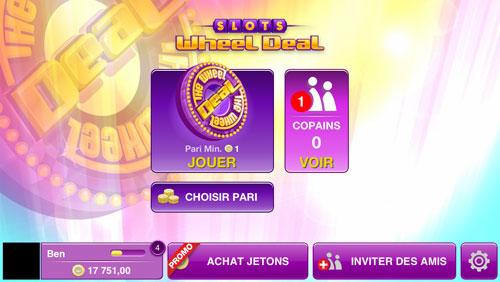 Slots Wheel Deal 031 LApp Gratuite du Jour : Slots Wheel Deal