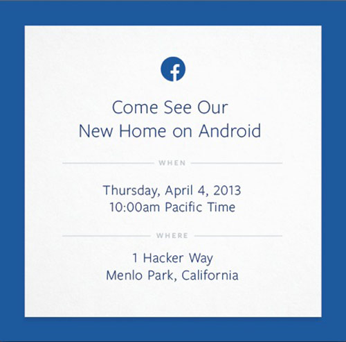 facebook Nouveau concurrent iPhone : Un Facebook Phone présenté début Avril ?