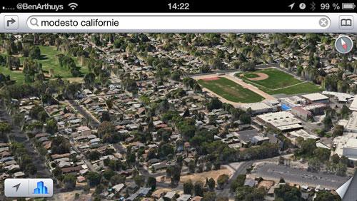 flyover maps ios Apple ajoute de nouvelles villes en 3D sur Plans