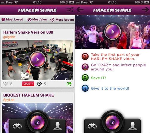 harlemshake Lapp Harlem Shake danse désormais sur votre iPhone !