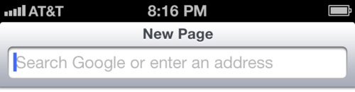 iOS 7 Safari Concept Concept : Safari Mobile pour iOS 7