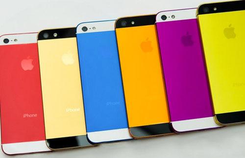 iphone Rumeur : des iPhones 5S colorés pour le mois de juillet