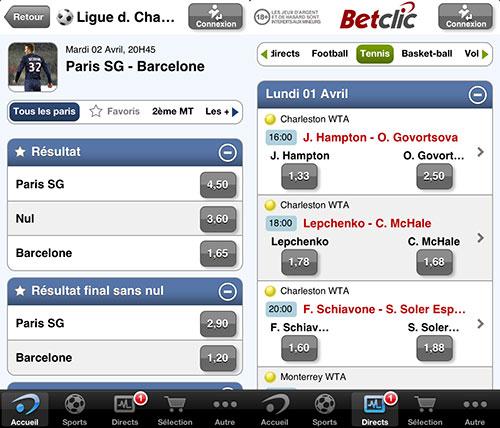 betclic01 Pariez et gagnez directement sur votre mobile avec Betclic