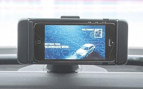 ibeetle iBeetle : Volkswagen intègre liPhone dans la new Beetle