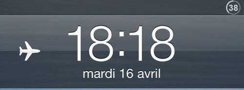 lockscreen Cydia : LockScreenAirPlaneMode active rapidement le mode avion