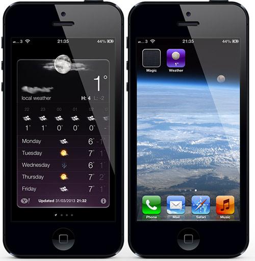 weathericon Cydia : WeatherIcon est désormais compatible iOS 6