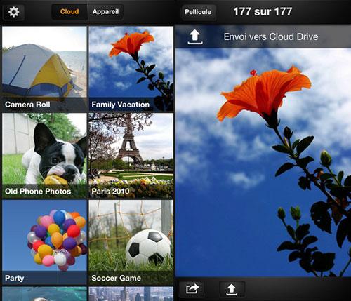 Amazon Cloud Drive Photos Amazon Cloud Drive Photos est disponible sur iOS