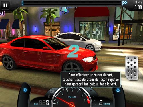 CSR Racing 01 CSR Racing, roulez plus vite que votre ombre !