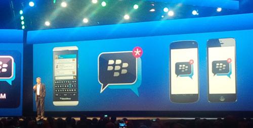 bbm ios blackberry BlackBerry Messenger sur iOS dès cet été