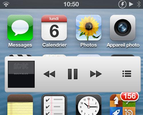 miniplayer Cydia : MiniPlayer, un lecteur miniature façon iTunes