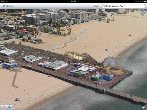 santa monica plans ios Apple rachète la société Locationary pour améliorer Plans