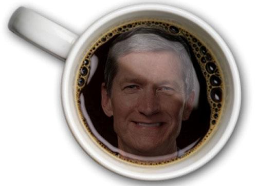 tim cook coffee Un café avec Tim Cook vaut 480 000 €