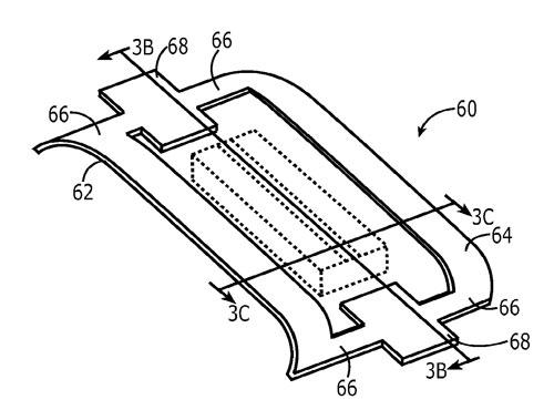 Apple patent fingerprint sensor encapsulation 0021 Un brevet Apple décrit un capteur dempreintes encapsulé
