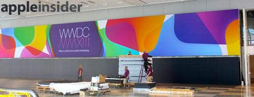 WWDC 2013 Moscone 02 Le Moscone Center se prépare pour la WWDC