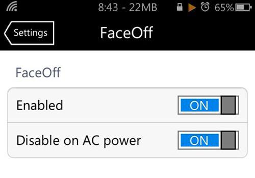 Cydia : Face Off éteint automatiquement l'écran de votre appareil quand vous le posez