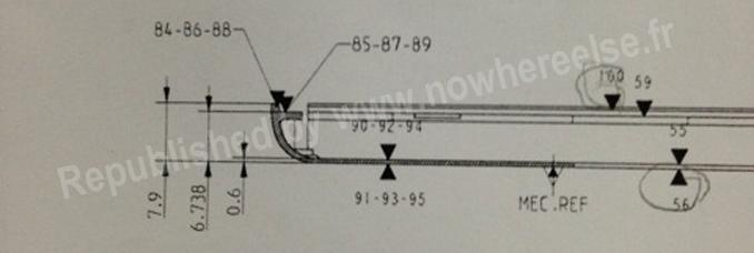 iPad 5 Schema Spec Les dimensions de liPad 5 dévoilées sur un schéma