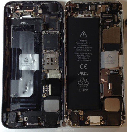 iPhone 5S Nouvelles images de liPhone 5S, puce A7 et double flash LED ?