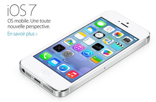 ios 7 fr Apple.fr ajoute la présentation de iOS 7, pas de iRadio en vue