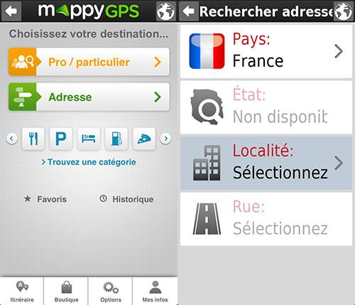 mappygps 02 MappyGPS vous guide gratuitement sur iPhone