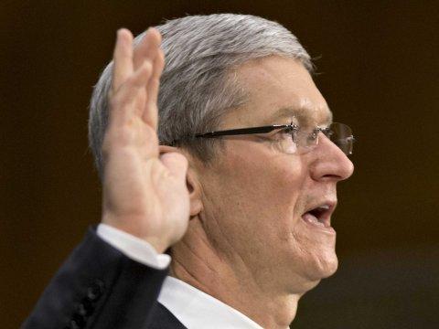 tim cook congress testify apple PRISM : Apple répond aux accusations de partage de données