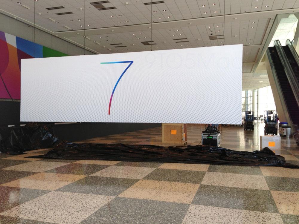 wwdc 2013 04 Nouvelles photos du logo iOS 7 et découverte du logo Mac OS X