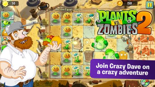 Plants vs Zombies 2 Plants vs Zombies 2 est disponible en Australie