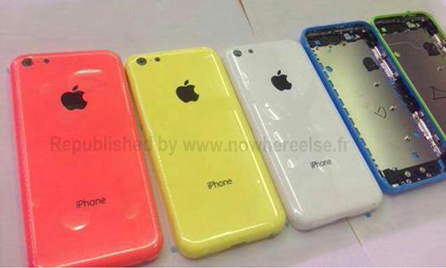 iPhone Lite coque De nouvelles images de liPhone lite dévoilent une coque bleue
