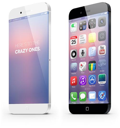 iphone 6 02 Un concept iPhone 6 vraiment intéressant