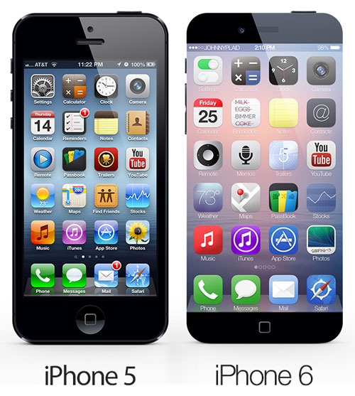 iphone 6 03 Un concept iPhone 6 vraiment intéressant