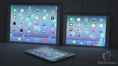 12 9 ipad ipads dark Concept dun iPad 12,9 pouces