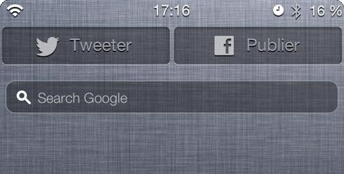Bandeau ncs Cydia : NCSearch, ajoute une barre de recherche au centre de notification