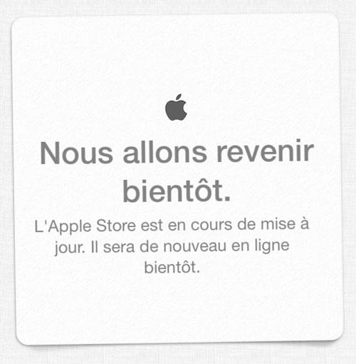 apple store ferme LApple Store est momentanément fermé