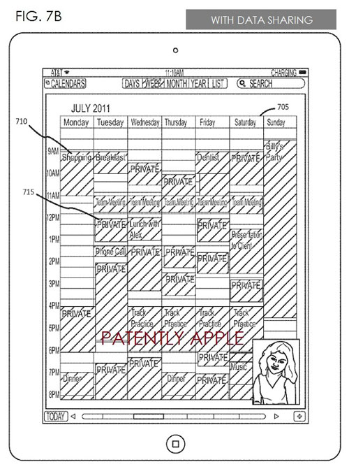 brevet app sharing apple facetime Apple dévoile un système permettant le partage dApps avec FaceTime