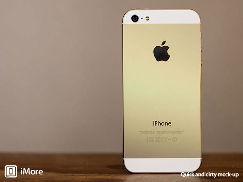 gold iphone 5s mockup imore fixed LiPhone 5S couleur or confirmé ?