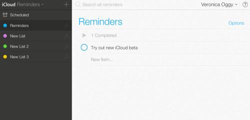 icloud3 Apple met un peu diOS 7 dans iCloud.com beta