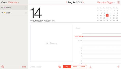icloud6 Apple met un peu diOS 7 dans iCloud.com beta