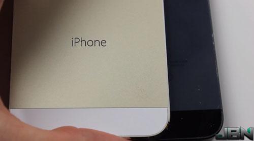 iphone 5S champagne crash test Crash Test de la nouvelle coque couleur champagne