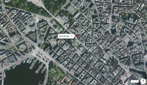 norway oslo maps La ville dOslo interdit la vue 3D sur lapplication Plans