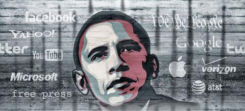 prism obama prismbreak1 Obama rencontre Tim Cook pour parler surveillance