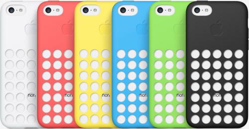 accessories iphone 5c case colors 500x259 Le bilan du keynote : iPhone 5S/5C et iOS 7